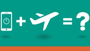 spegnere lo smartphone in aereo