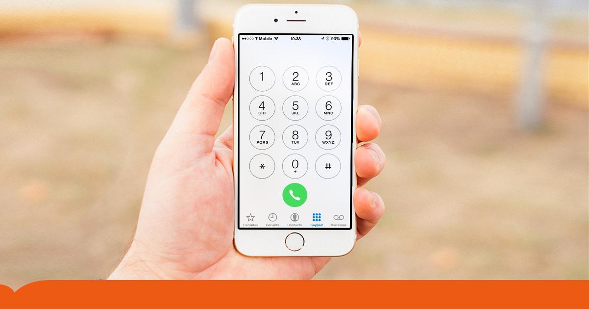 Cancelletto Telefono : Tasti del telefono e calcolatrice hanno ordine diverso perché