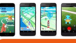 PokemonGO smartphone