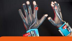 guanti che traducono il linguaggio dei segni