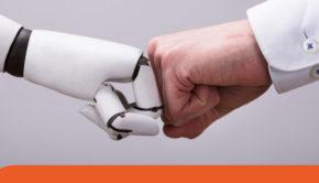 umani e robot