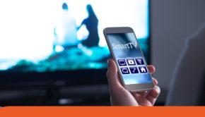 smartphone come tastiera smart tv